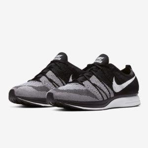 Nike Flyknit Trainer Black & White Oreo Men's 10.5